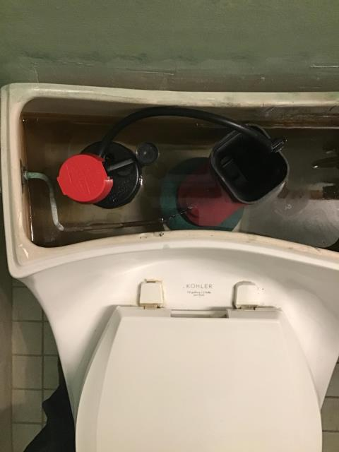 Glenview, IL - Kohler toilet tuneup in Glenview, IL.