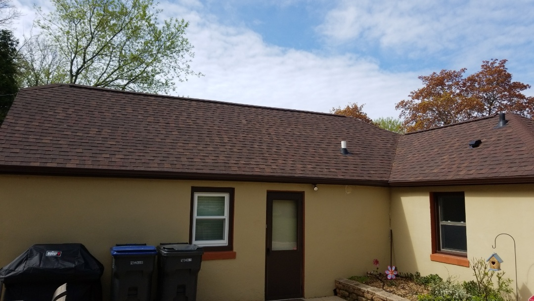 Sheboygan, WI - Roof inspecting - just completed Atlas Pinnicle Sheboygan Wi