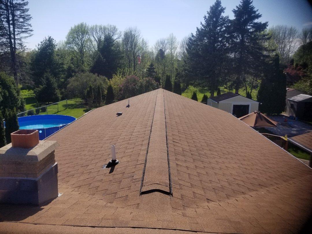 Sheboygan, WI - Roof replacement  Atlas pinnacle pristine install