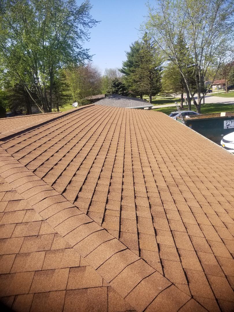 Sheboygan Falls, WI - Roof replacement replacing roof shingles Atlas pinnacle