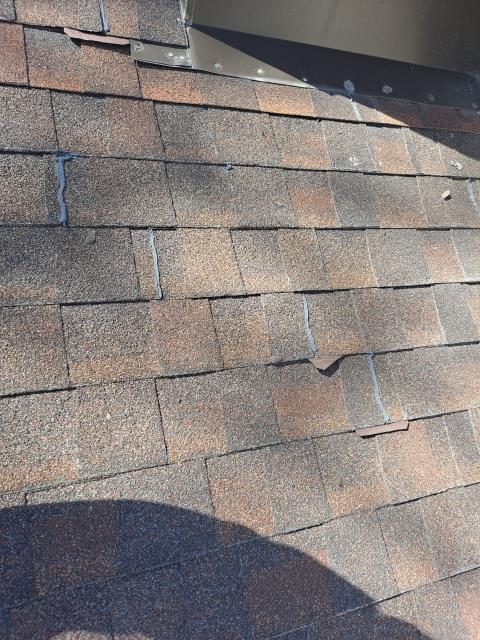 Manitowoc, WI - Roof estimate and inspection   Roof replacement bid replace shingles and chimney flashing  Install new GAF Timberline HDz Shingle