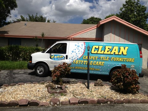 North Lauderdale, FL - Cleaned three rooms of carpet in North Lauderdale wow the traffic patterns came out better than I thought