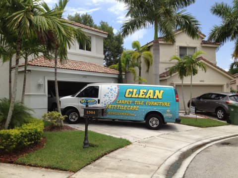 Weston, FL - cleaned 4 room of carpet and stair, in weston.