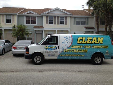 Margate, FL - cleaned Two rooms and hall in Margate  And the carpet repair
