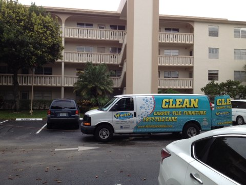 Coconut Creek, FL - just cleaned three rooms and a hall in Wynmoor, they really cleaned up good