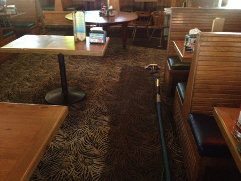 Davie, FL - we cleaned the Quarterdeck restaurant in Davie this morning it came out real good! we clean it once a month