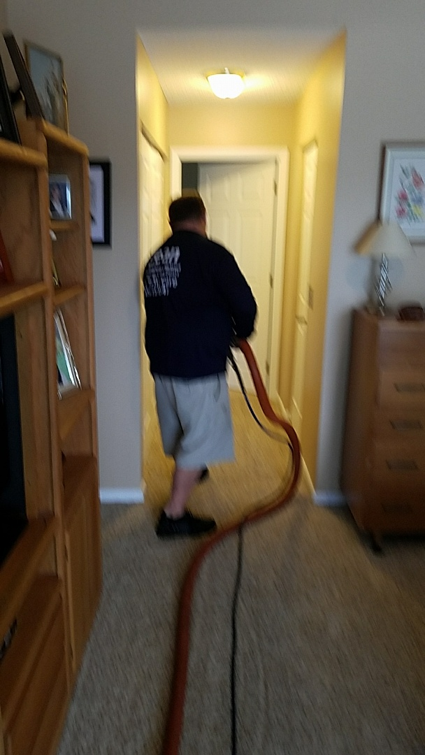 Pembroke Pines, FL - Cleaning one room of carpet at a repeat customers house in Pembroke Pines