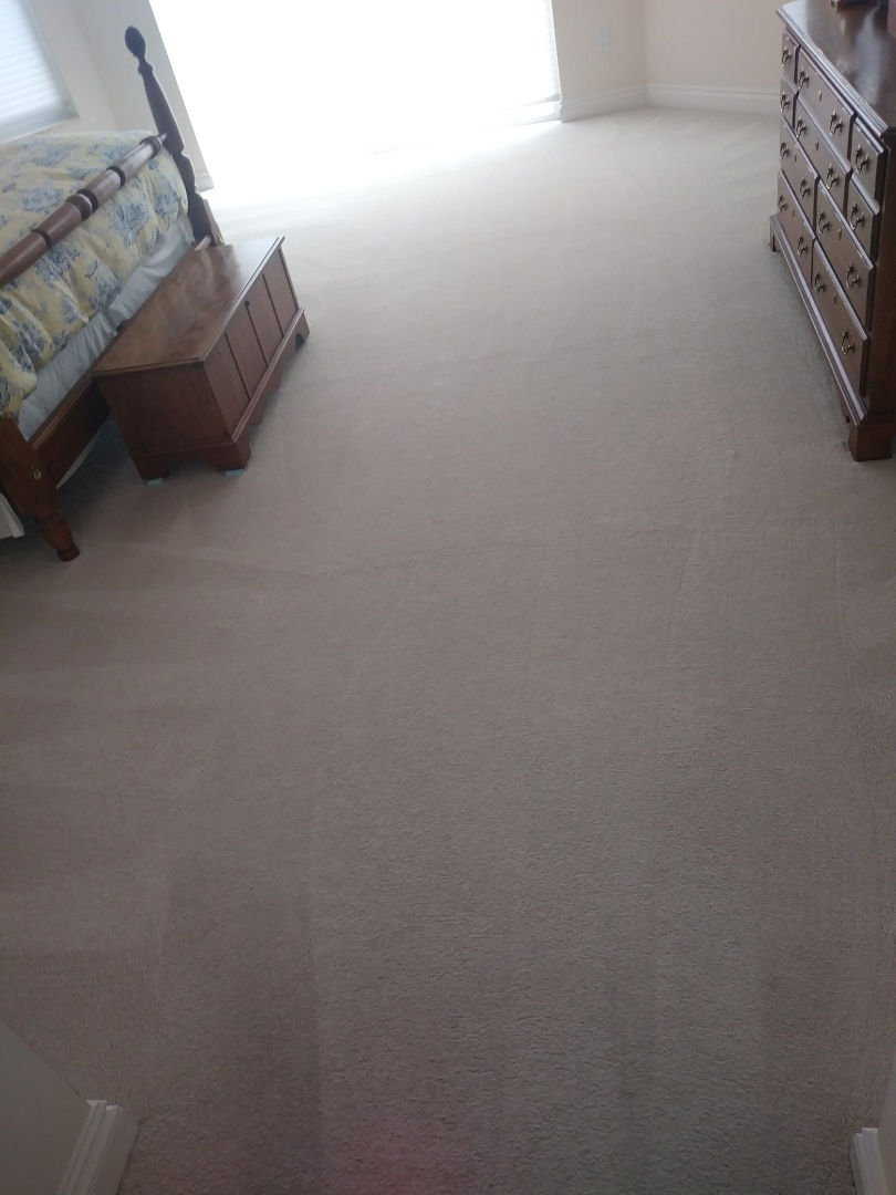West Palm Beach, FL - Cleaned 2 rooms of carpet..