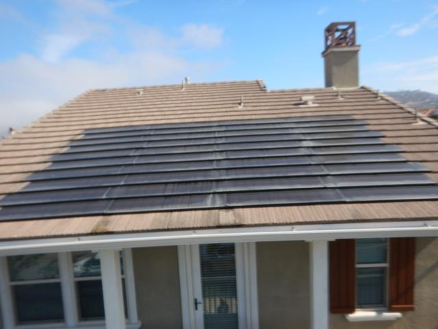 Newer solar panels on this Carlsbad home. Solar is becoming more popular among Southern California home buyers as a way to help lower energy costs. Whether your selling or buying a property our thorough inspections could help you negotiate the right price. We have over 300 plus customer reviews on Yelp and Google with an average rating of 5 stars making us the first choice for home inspectors in San Diego and highly recommended among our repeat agents clients.