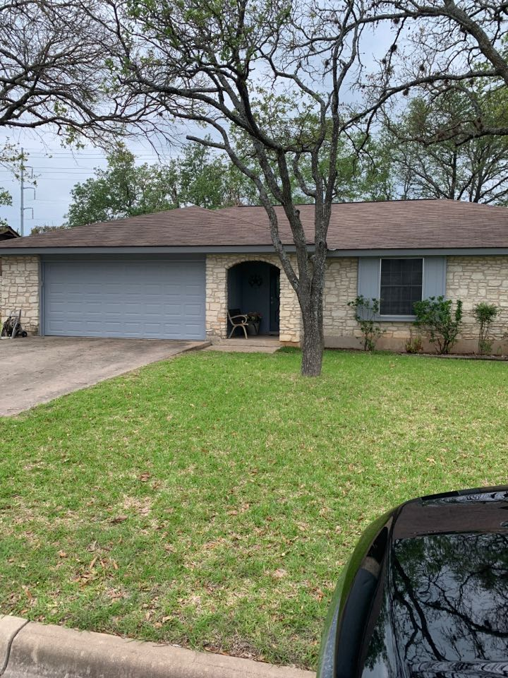 Round Rock, TX - Inspection for hail damage