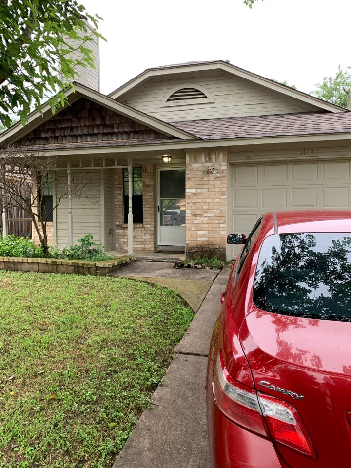 Round Rock, TX - Contract roof