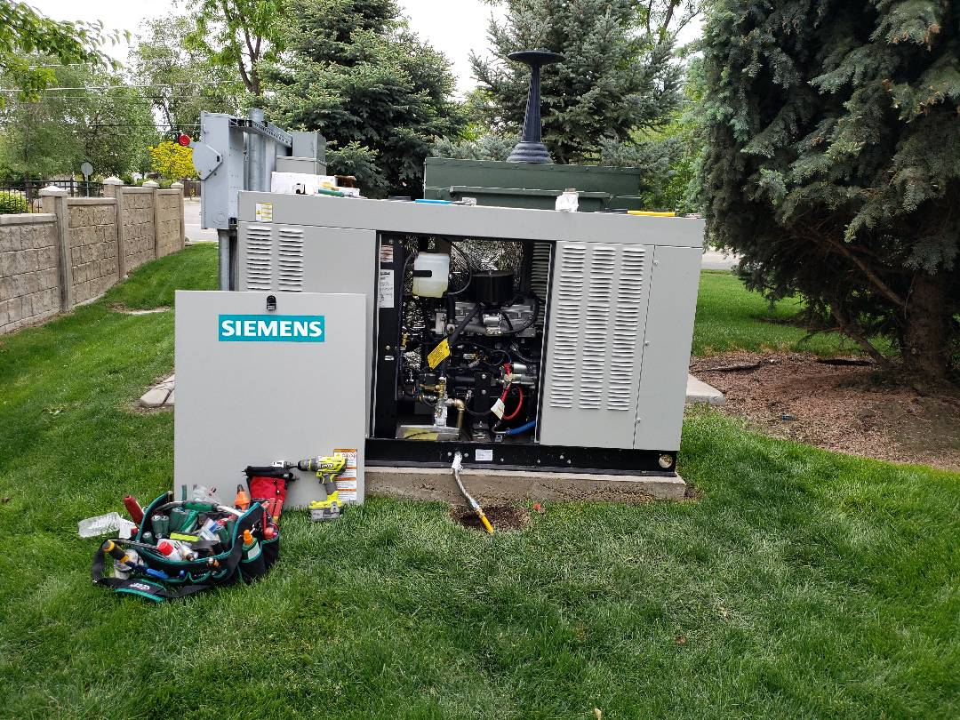 Taylorsville, UT - Finishing install at the Generator at Hamilton Dentristry