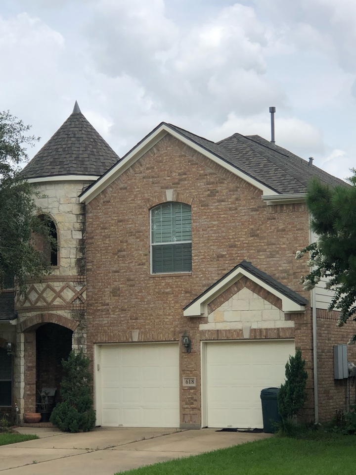 Rosenberg, TX - Another quality roof replacement by VeeDone Roofing!!!