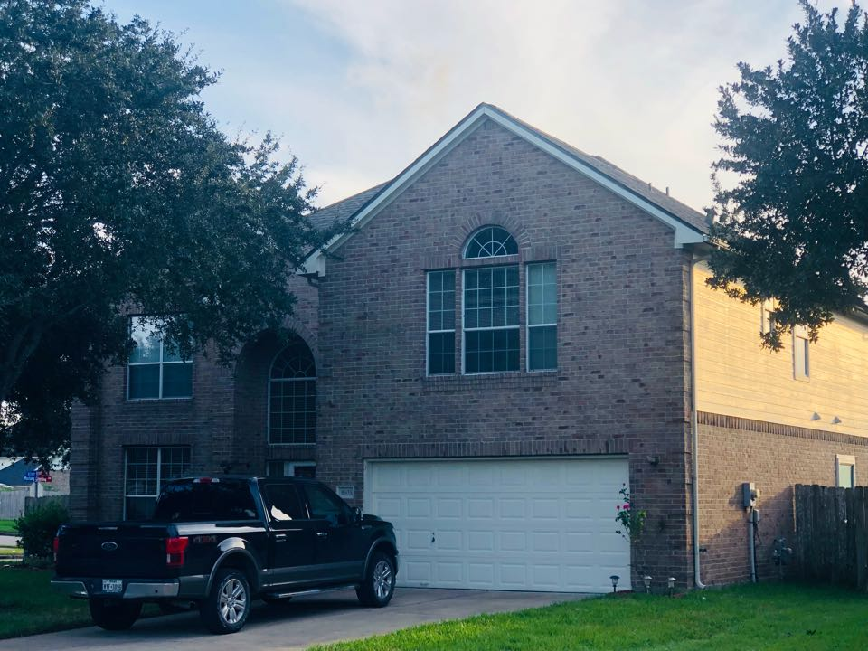 Missouri City, TX - Neighbors spread the word. This homeowner was happy watching our work in the neighborhood. A year later he made the right call. He has a brand new quality roof now. Thank you customer!!!