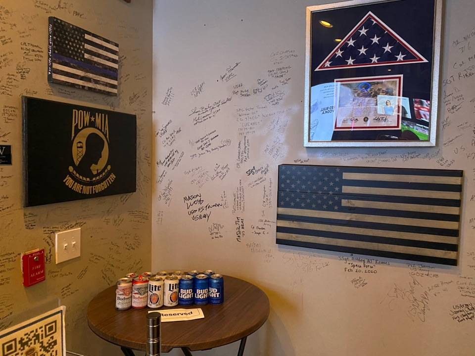 Herndon, VA - We stand behind our troops! Here's to you brothers.