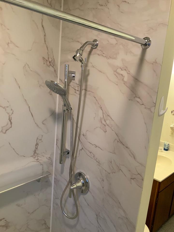 Madison, WI - Bath to shower conversion