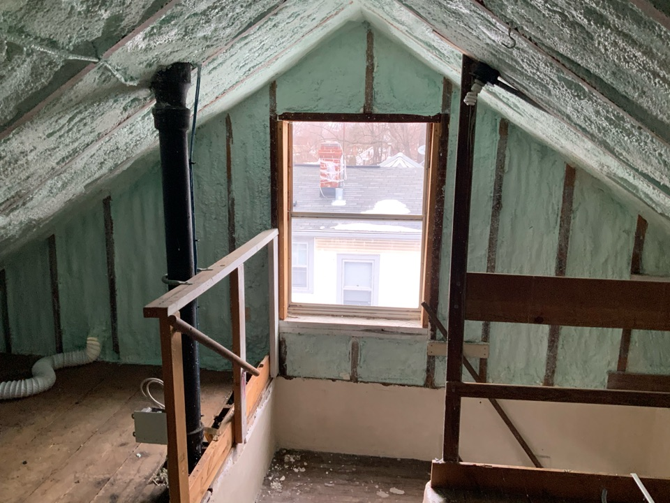 Madison, WI - This customer decided it was time to finish the attic and update their windows while they are at it! From the help of Infinity from Marvin, it has never been easier to add stunning windows into their attic and create a fresh new look to their home.