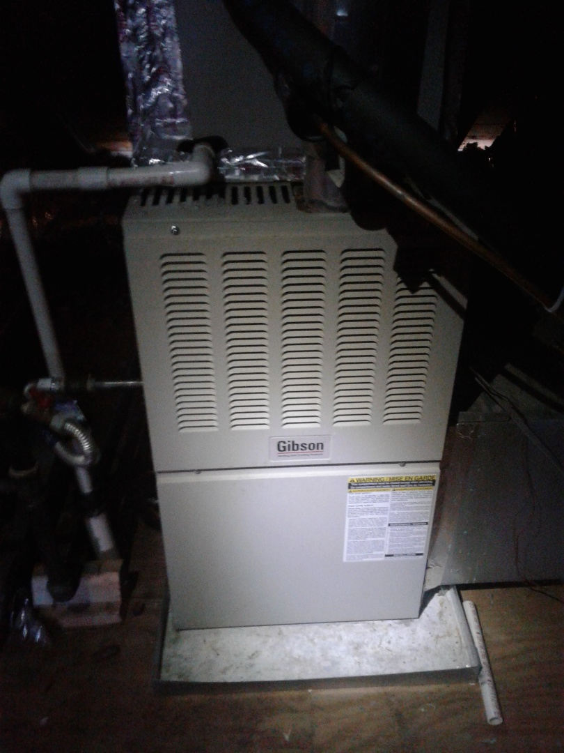 Hickory Withe, TN - Service call and repair on Gibson furnace