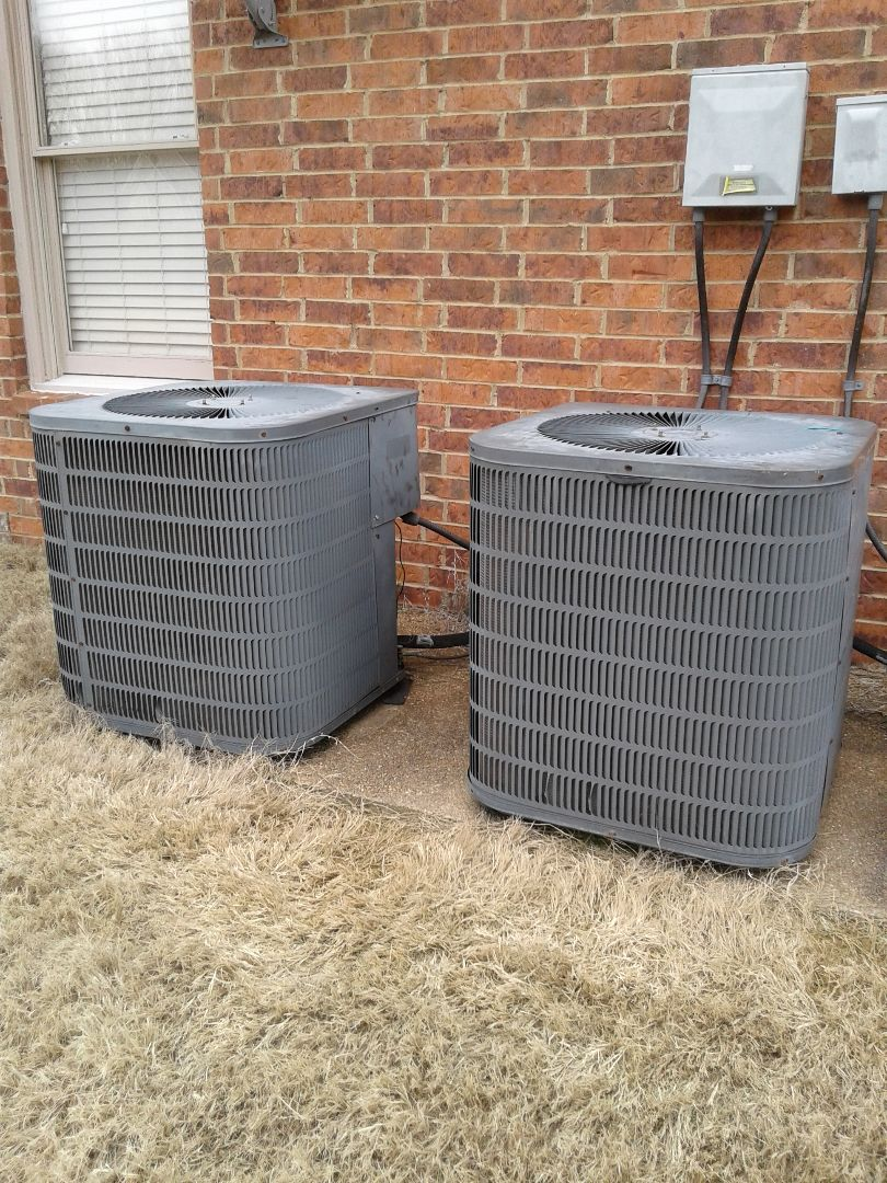 Bartlett, TN - Service call and Repair on Goodman Air Conditioners