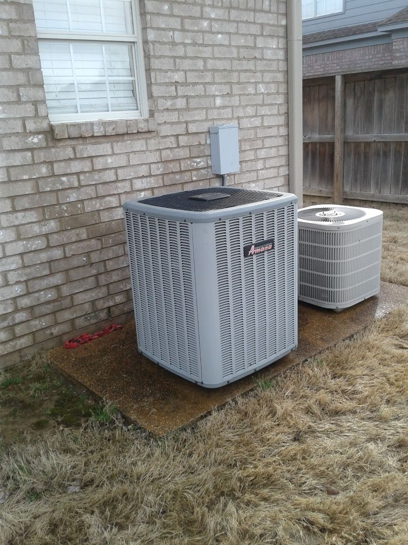 Bartlett, TN - Tune-up on Amana air conditioner