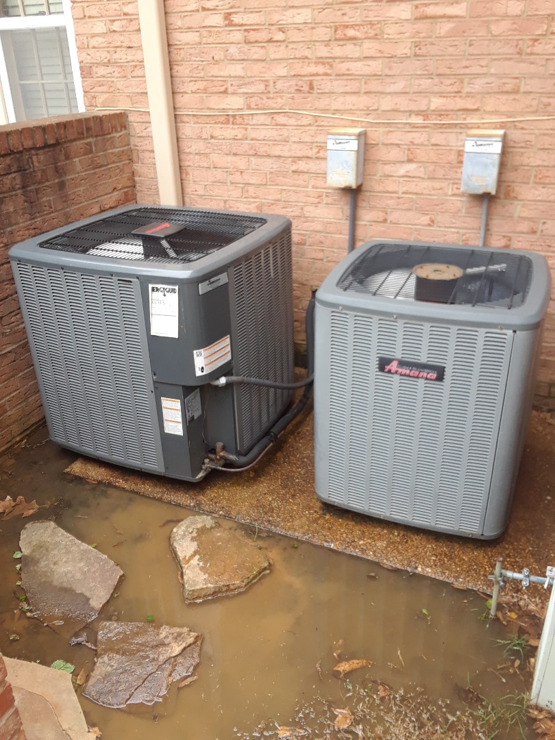 Germantown, TN - AC TUNE UP ON TWO AMANA SYSTEMS, UNDER MEMBERSHIP.