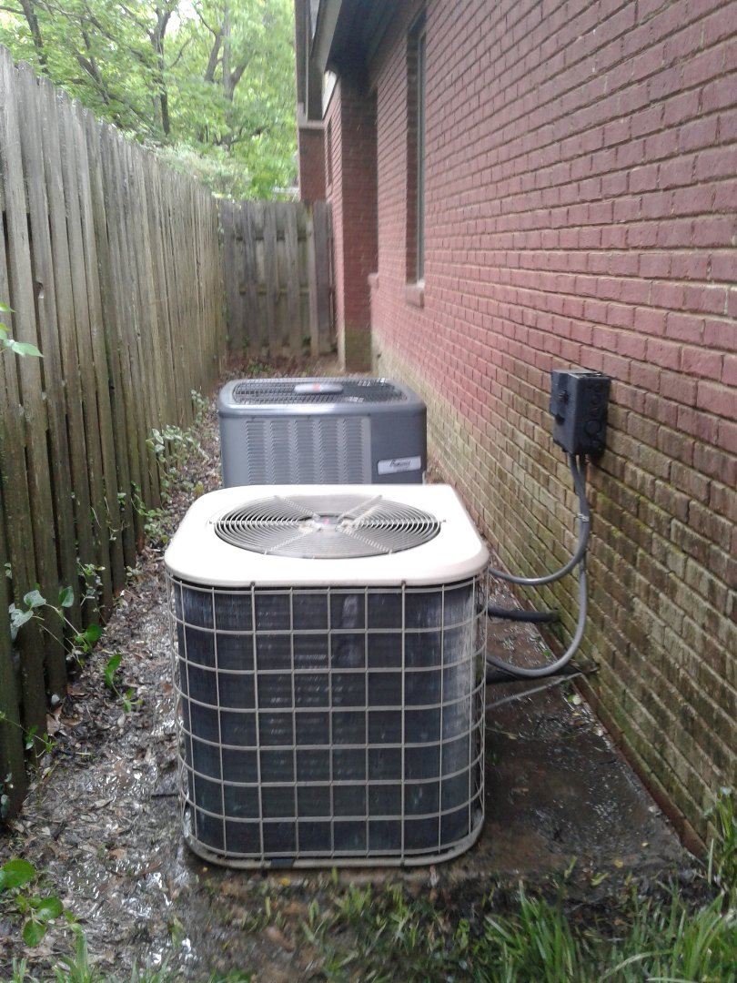 Memphis, TN - Tune up on Amana air conditioning systems