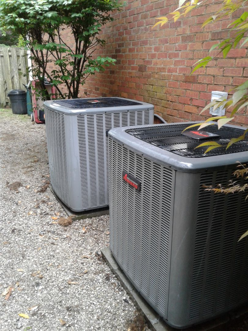 Memphis, TN - Tune-up on Amana air conditioners