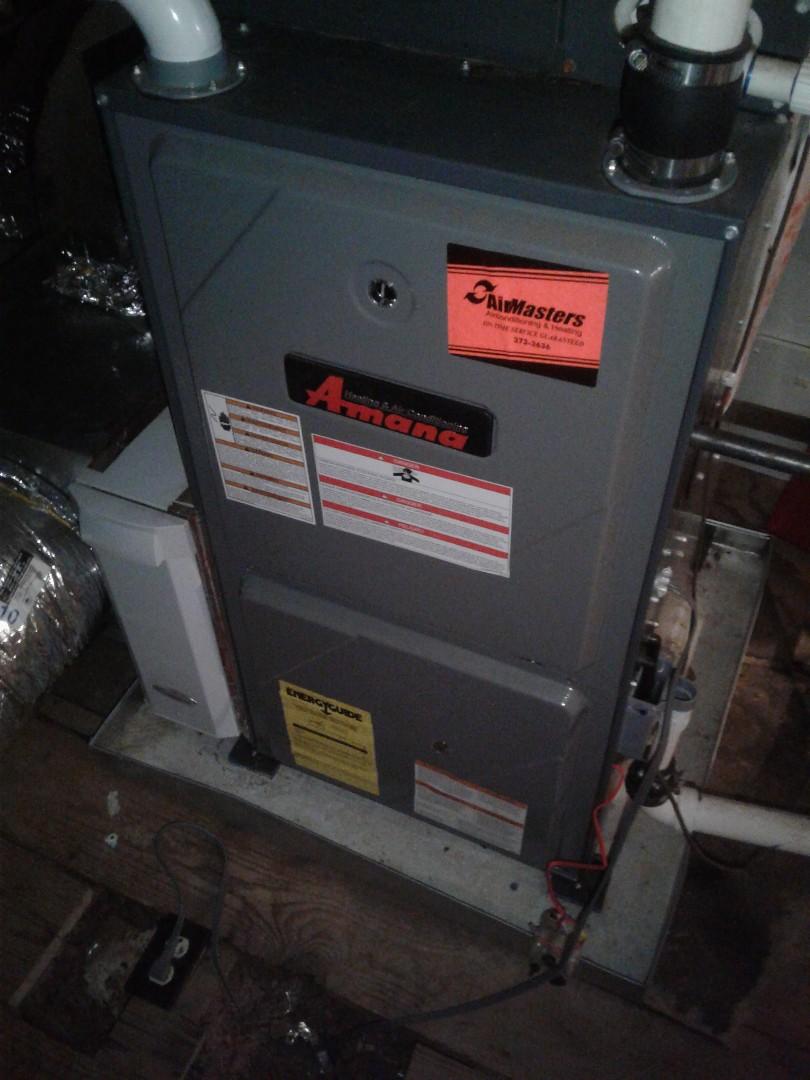 Memphis, TN - a.c. repair on Amana furnace