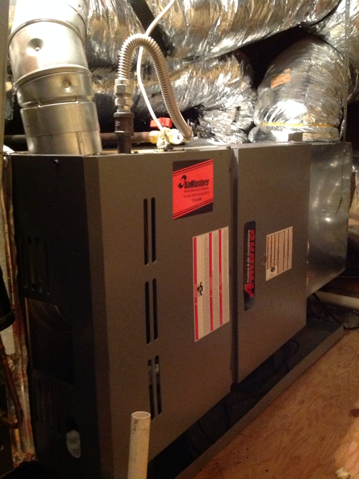 Atoka, TN - Heating tune up on Amana furnace.