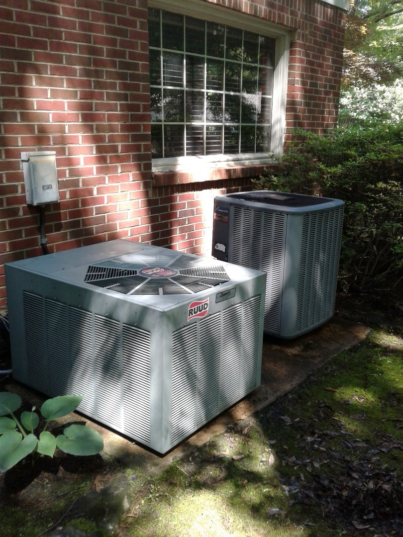 Lakeland, TN - Turn up on Amana and Ruud air conditioning system