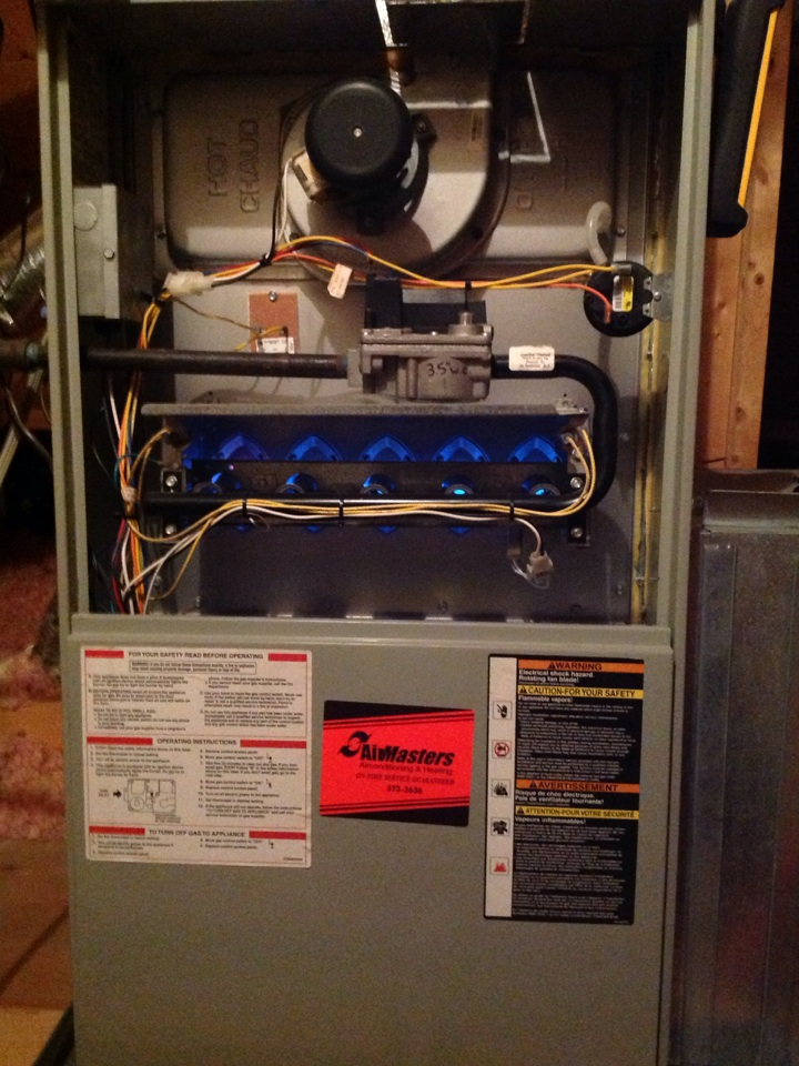 Hickory Withe, TN - Heating tune up on Trane furnaces.