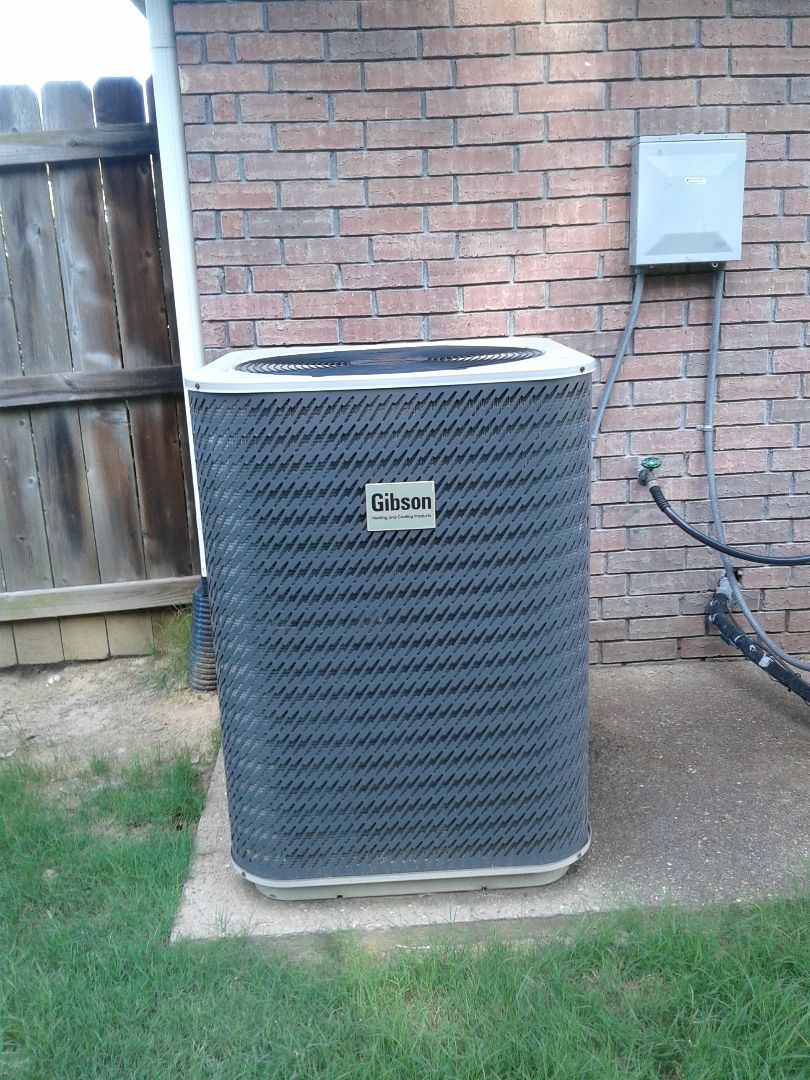 Bartlett, TN - Service call and Repair on Gibson air conditioning