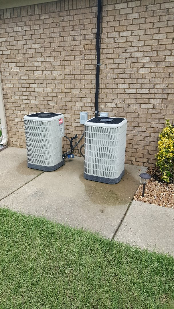 Atoka, TN - AC TUNE UP ON TWO NORDYNE SYSTEMS.