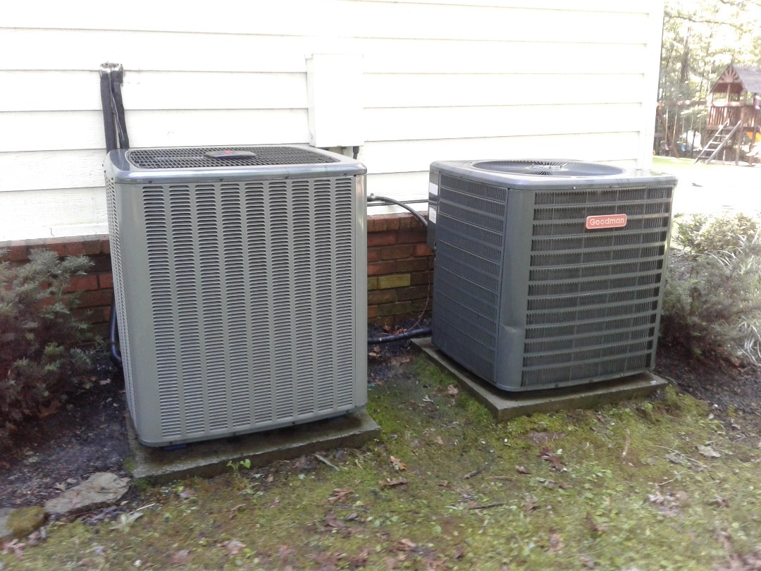 Memphis, TN - Tune-up on Goodman and Amana air conditioners