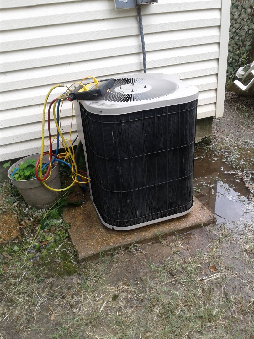 Memphis, TN - Ac tune up on Goodman air conditioner