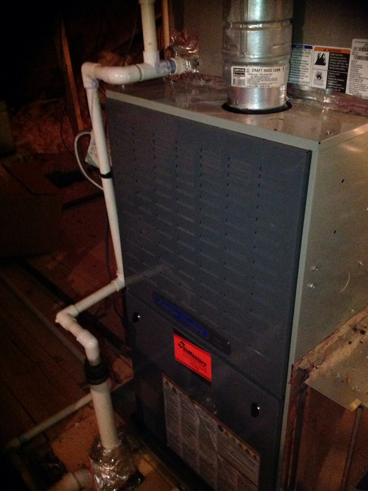 Olive Branch, MS - Annual heating tune up on American Standard and Amana furnaces.