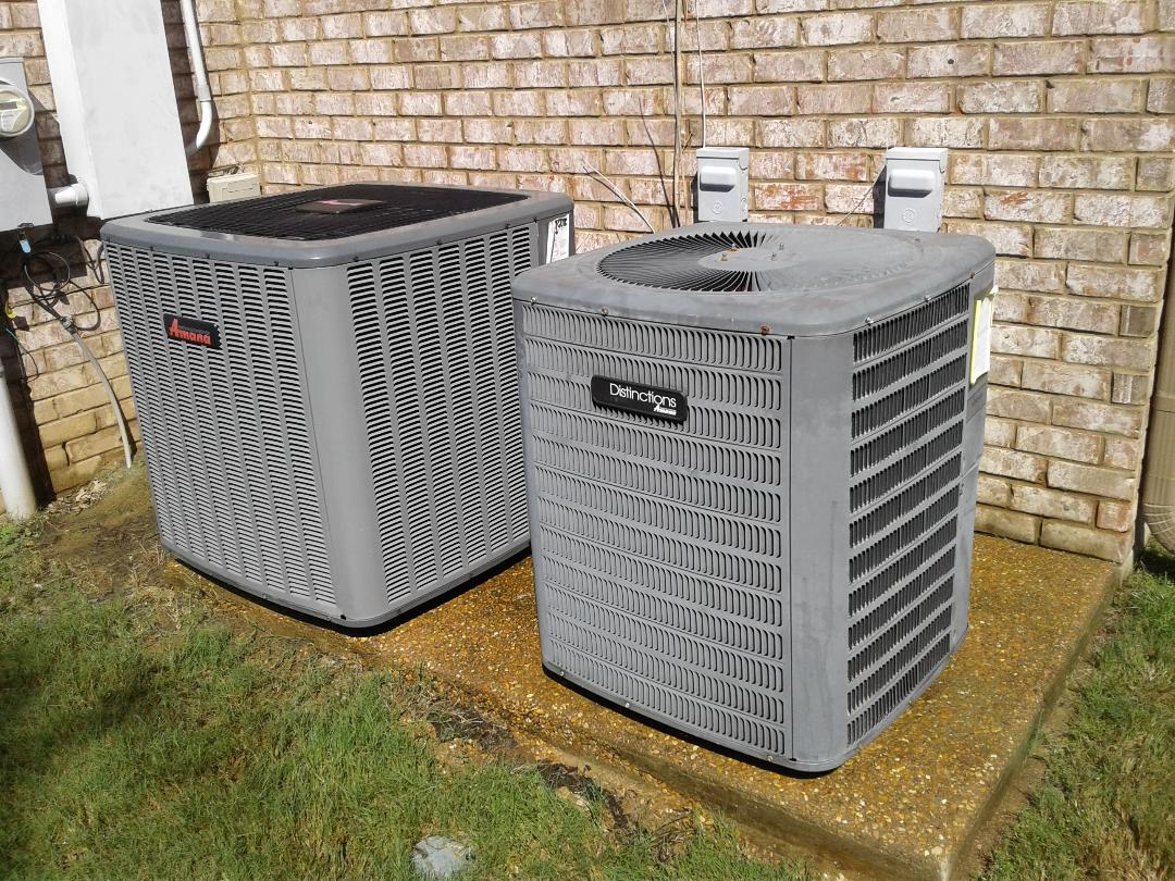 Hickory Withe, TN - Tune-up on Amana air conditioners