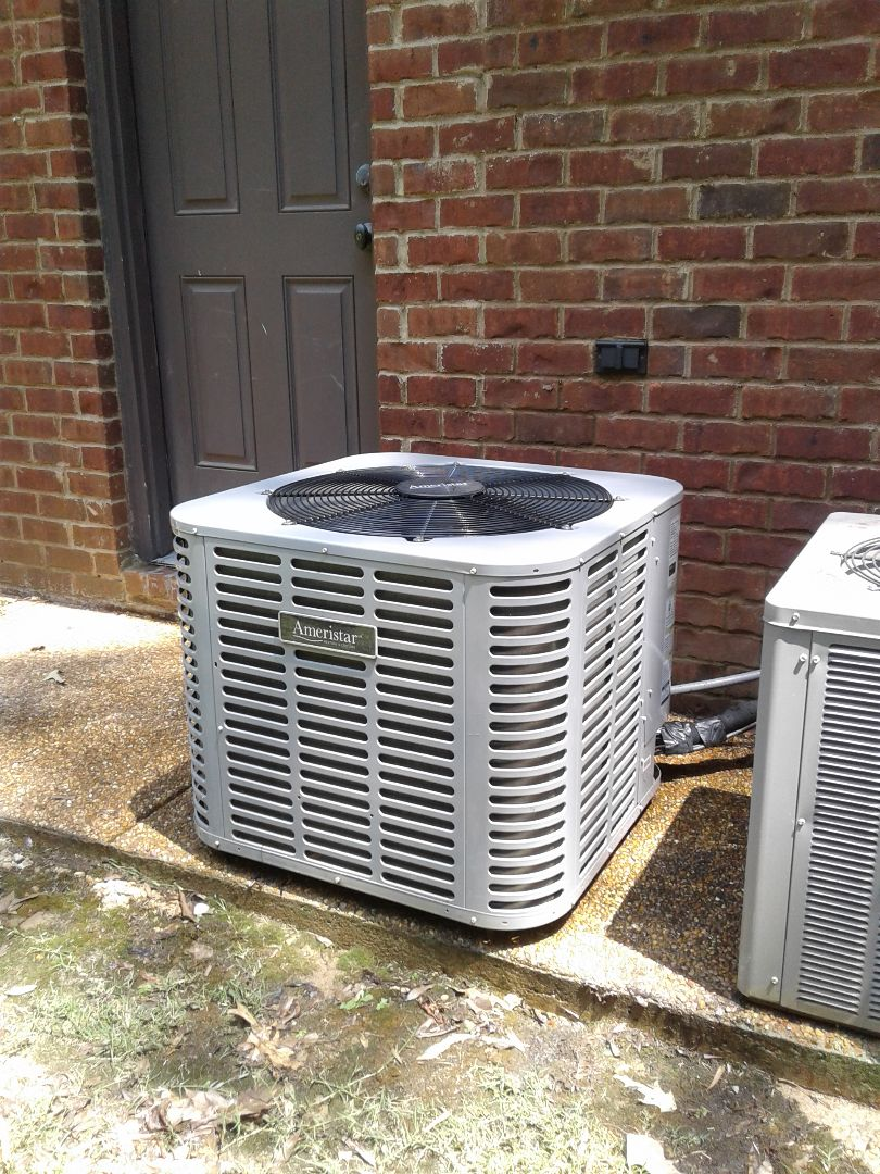 Hickory Withe, TN - Service call and Repair on Ameristar air conditioner
