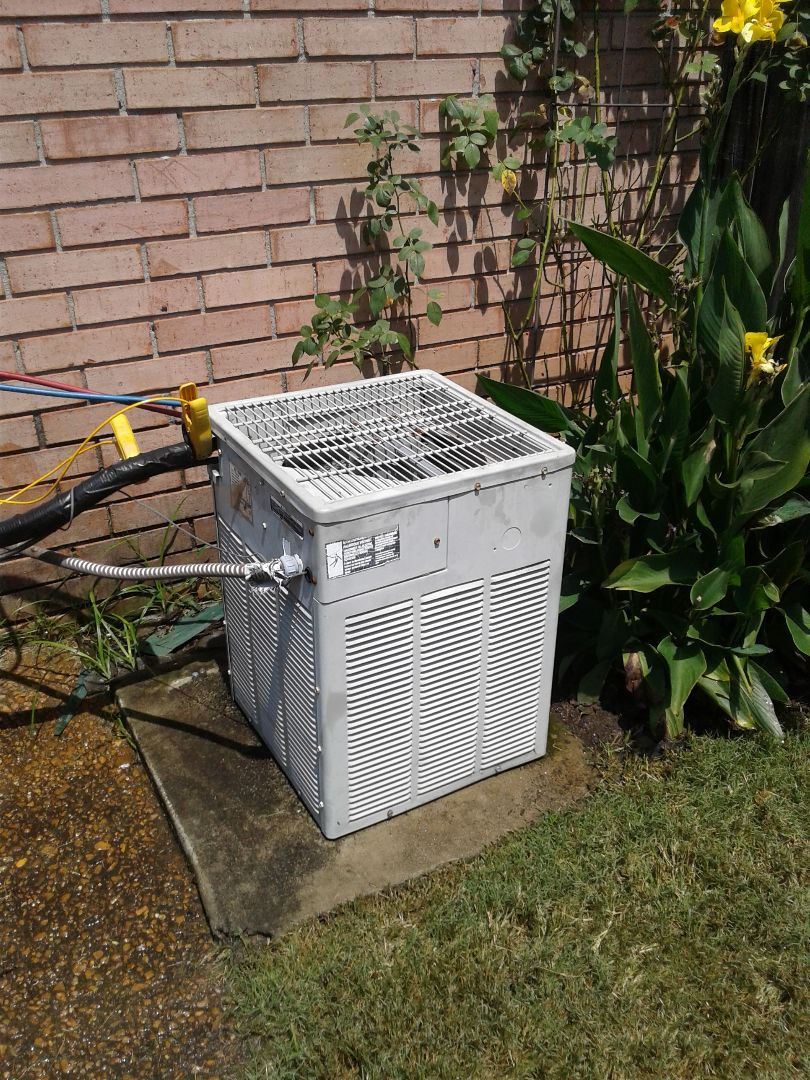 Arlington, TN - Service call and Repair on Trane air conditioner