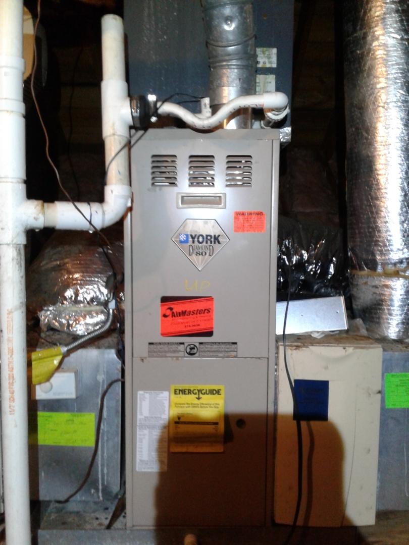 Germantown, TN - Drain lines condensating in attic.