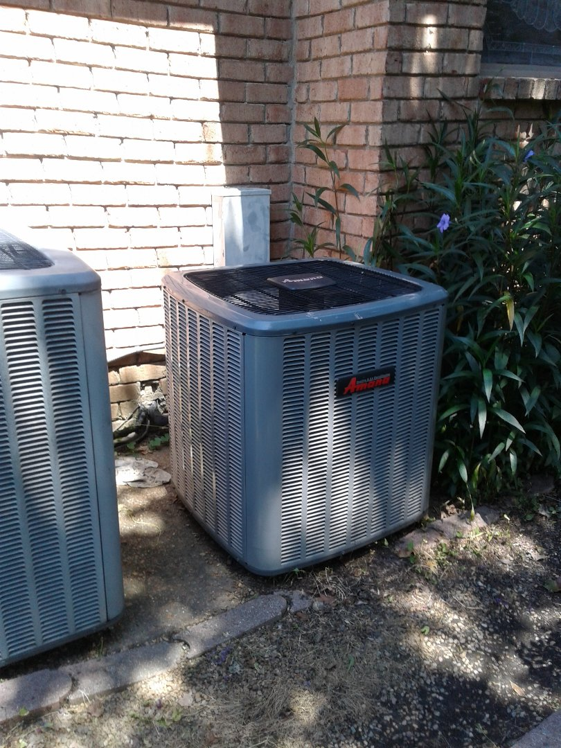 Collierville, TN - Warranty call and Repair on Amana air conditioner