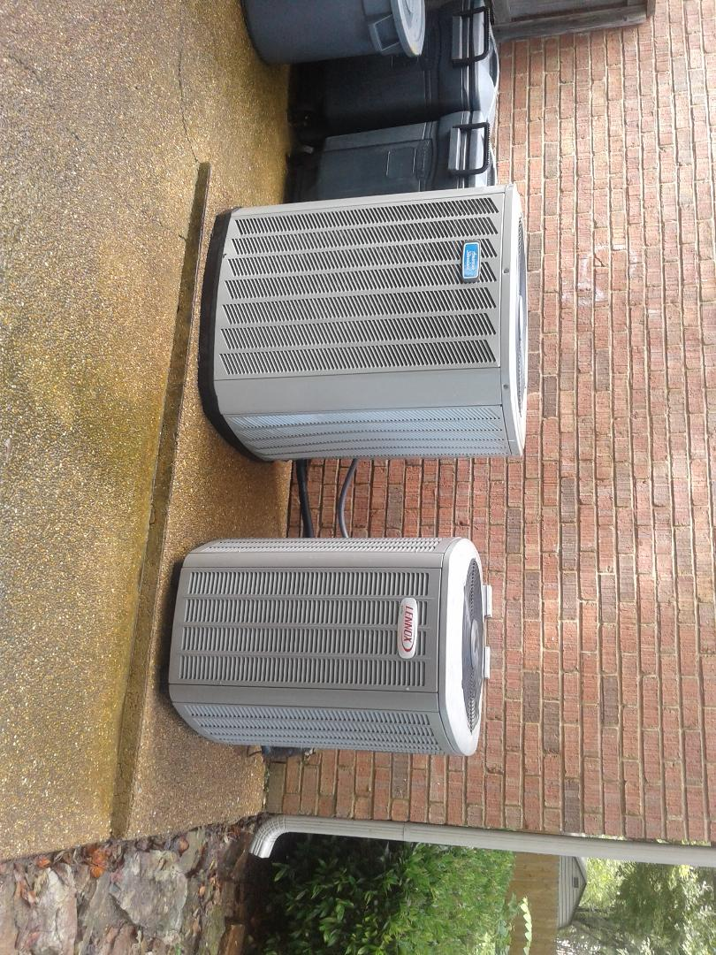 Germantown, TN - Tune-up on American Standard and Lennox air conditioners