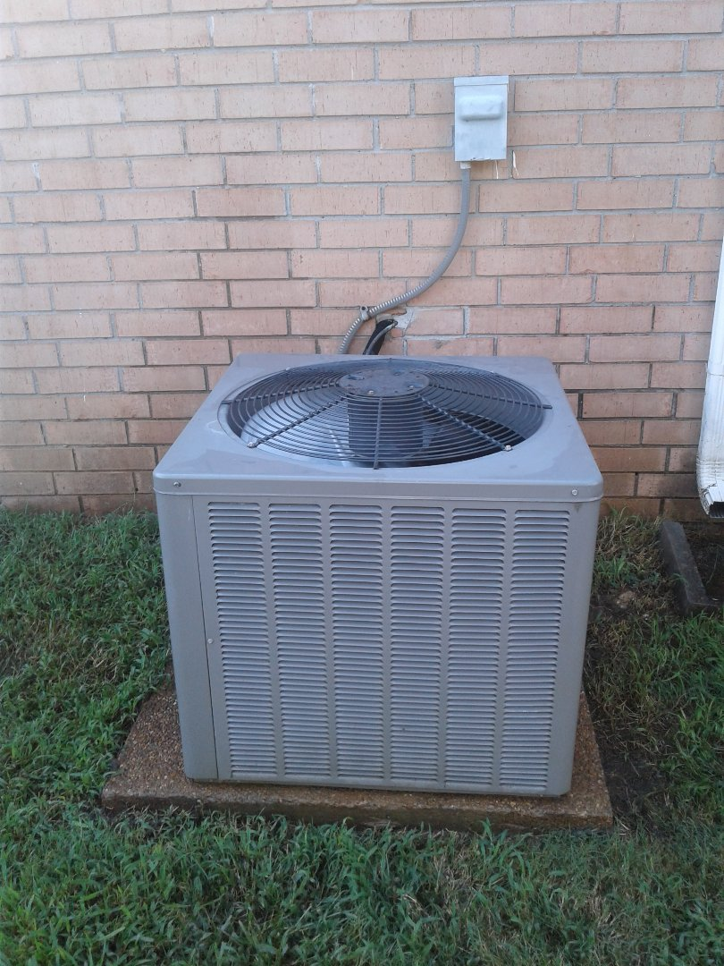 Lakeland, TN - Service call and Repair on Ruud air conditioner