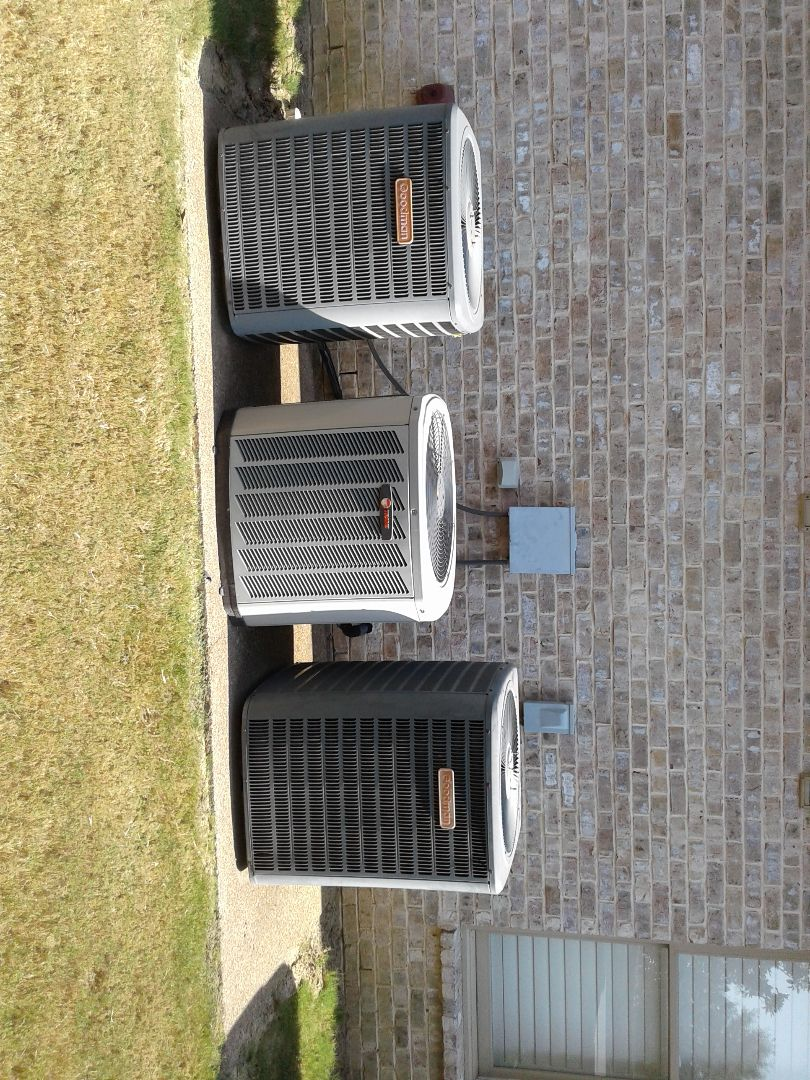 Lakeland, TN - Service call and Repair on Trane air conditioner