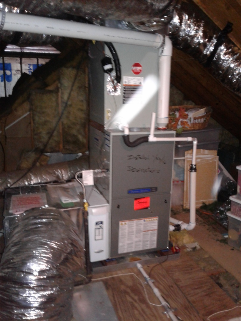 Germantown, TN - Maitiance and inspection on American Standard furnace.