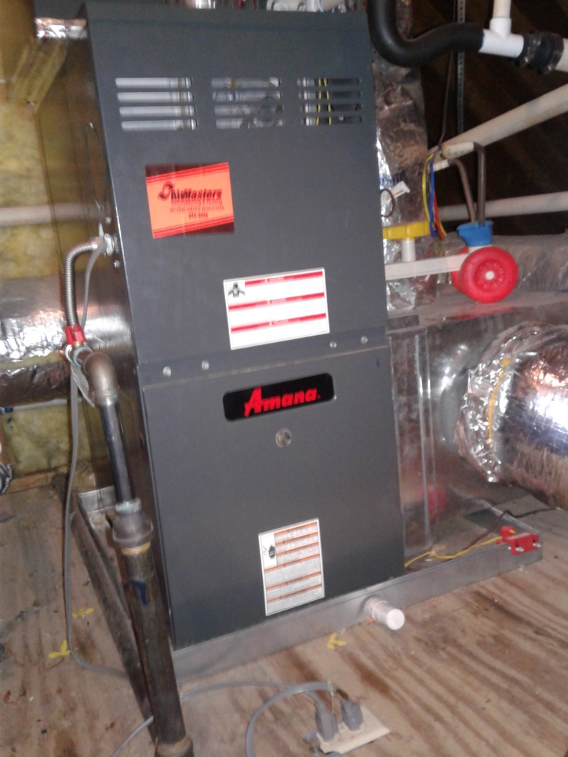 Germantown, TN - Installed new low voltage wire for Amana furnace.