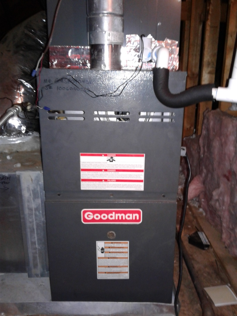 Olive Branch, MS - Replacing bad circutboard on Goodman furnace.