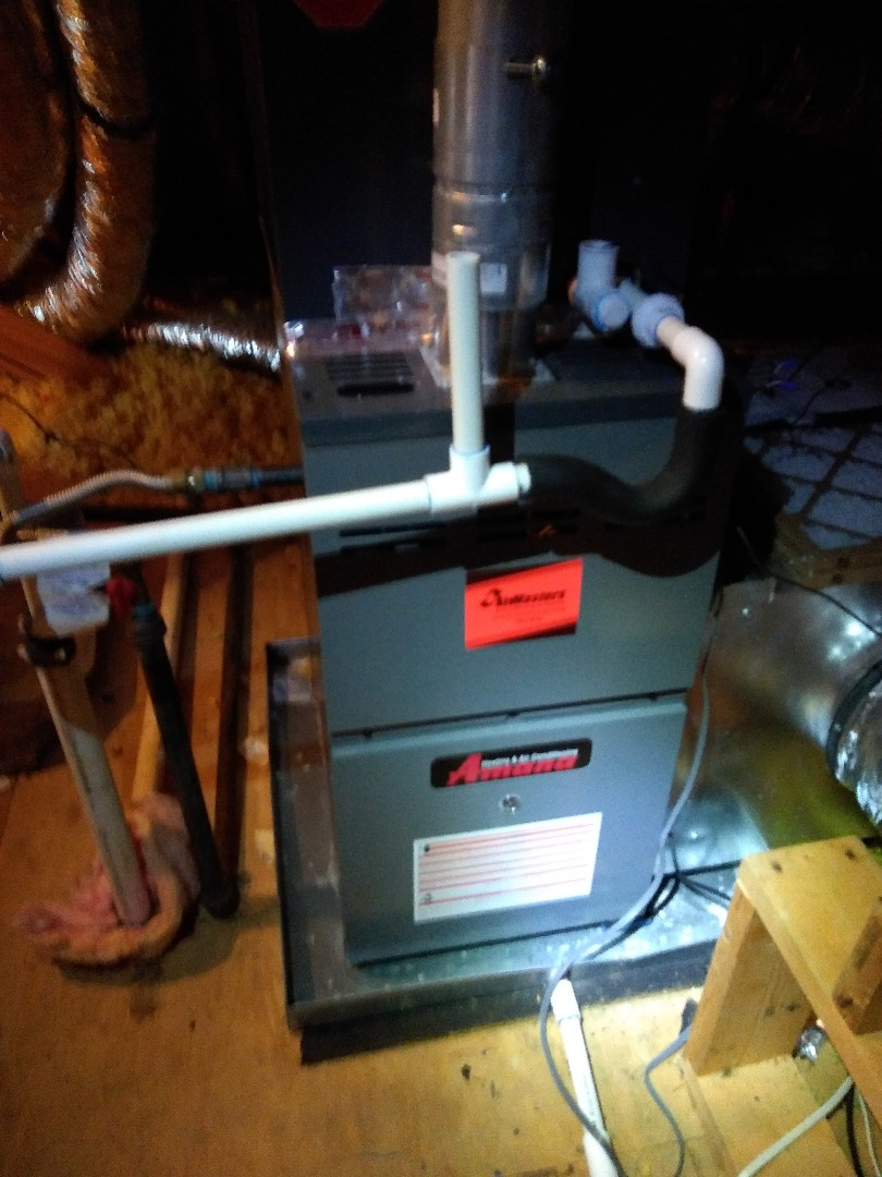 Oakland, TN - Service call and repair on Amana furnace