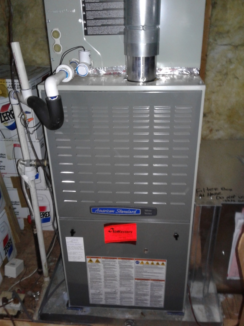 Olive Branch, MS - Service and inspection on an American Standard furnace.