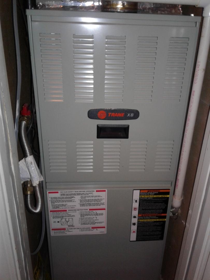 Arlington, TN - Check and services on a Lennox furnace.